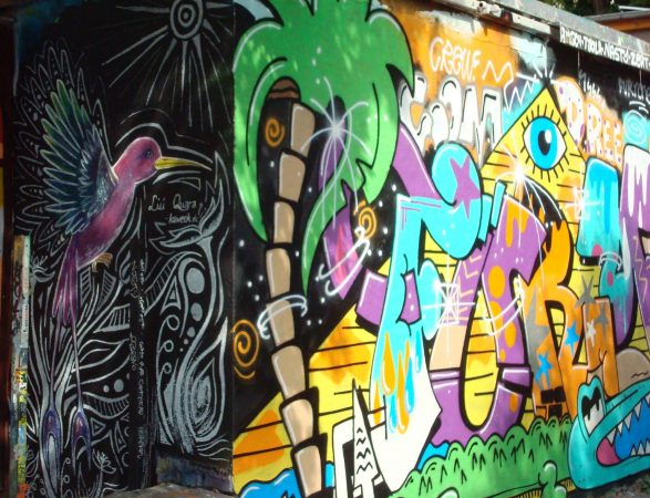 Streetart in der Neustadt