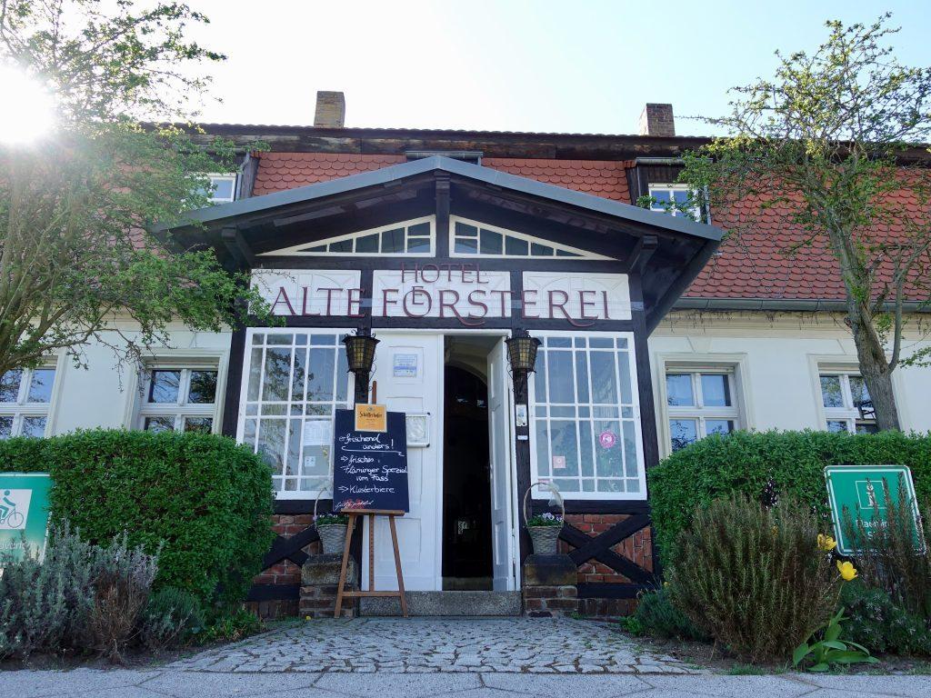 Fläming Skate: Hotel Alte Försterei Kloster Zinna
