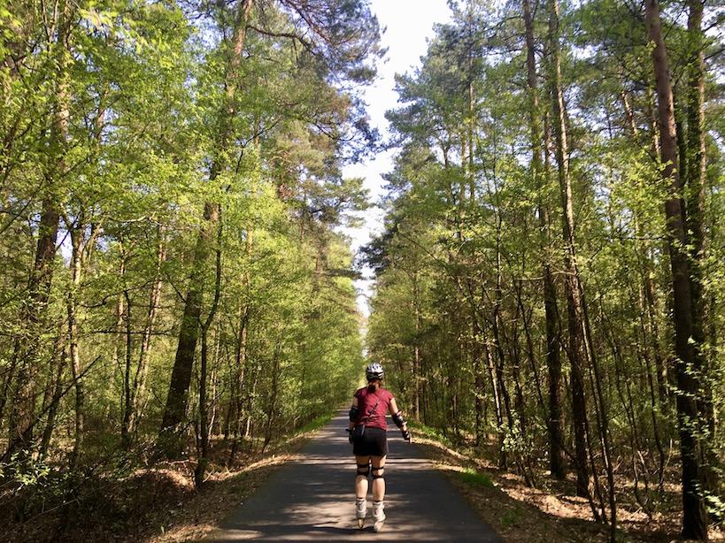 Flaeming Skate: Skaten im Wald
