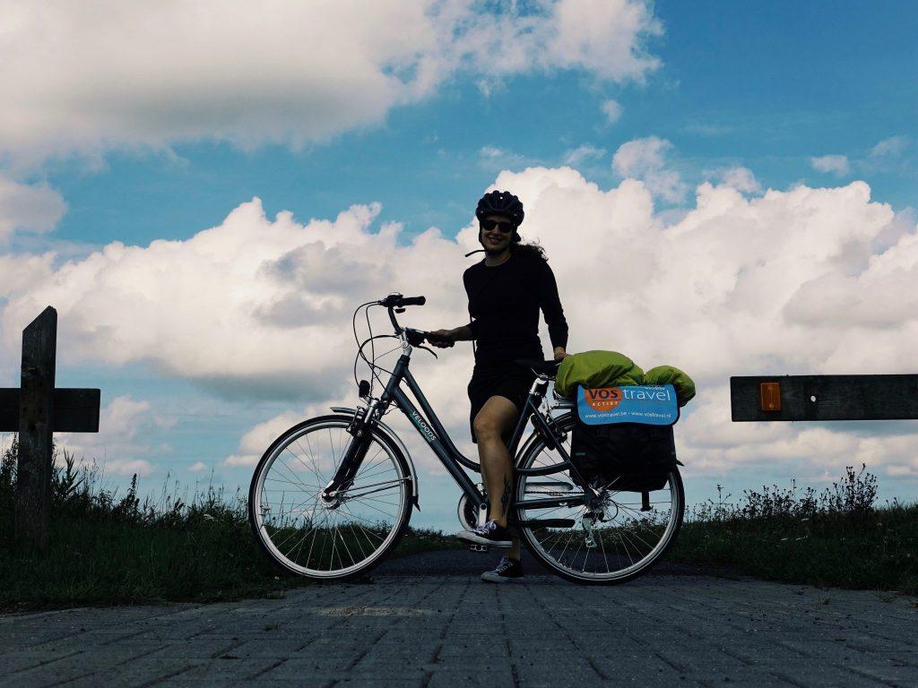 Mein Rad und ich am Weg Frontzate