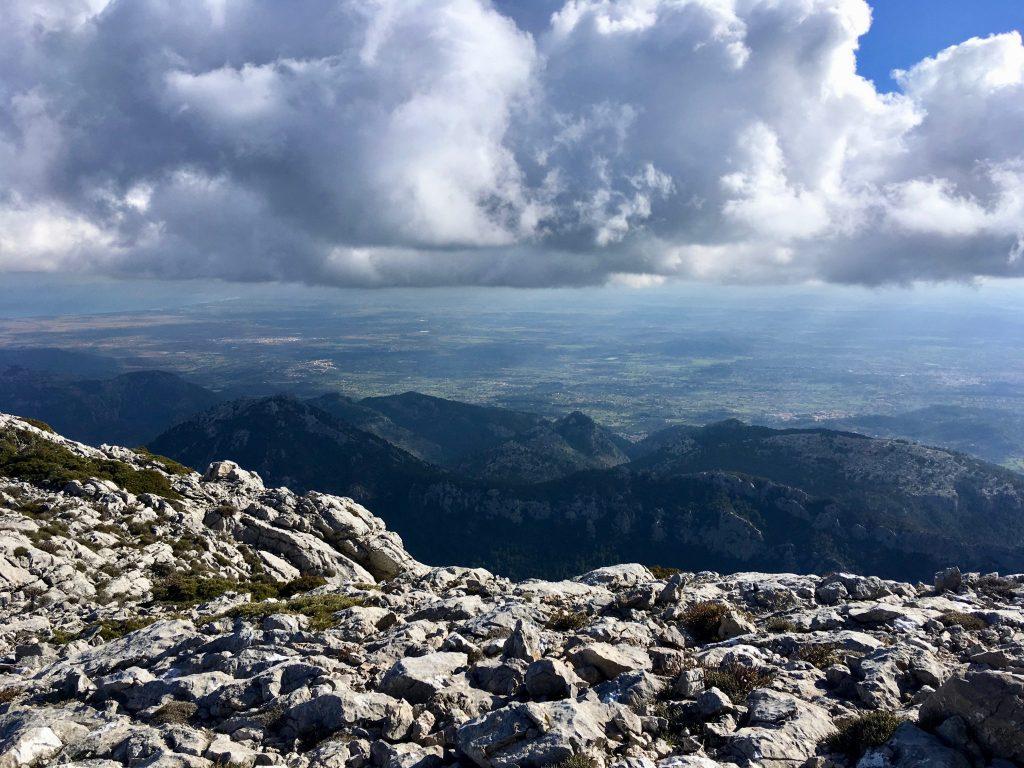 GR 221: Ausblick Puig de Massanella