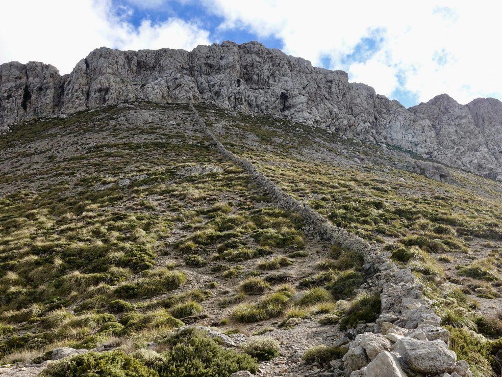 GR 221: Grenzmauer Serra Tramuntana
