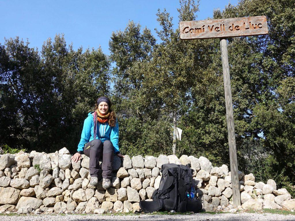 GR 221: Ich am Cami Vell de LLuc