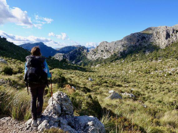 GR 221: Ich in der Serra-Tramuntana