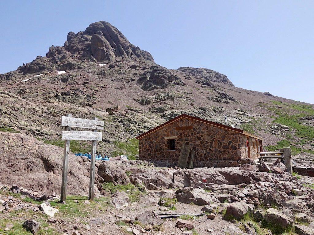 GR20-Korsika-Wandern: Refuge Ciuttulu di i Mori