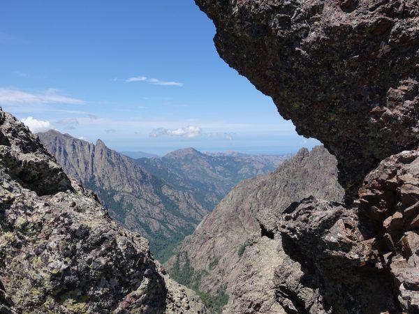 GR20-Korsika-Wandern-Blick zum Meer