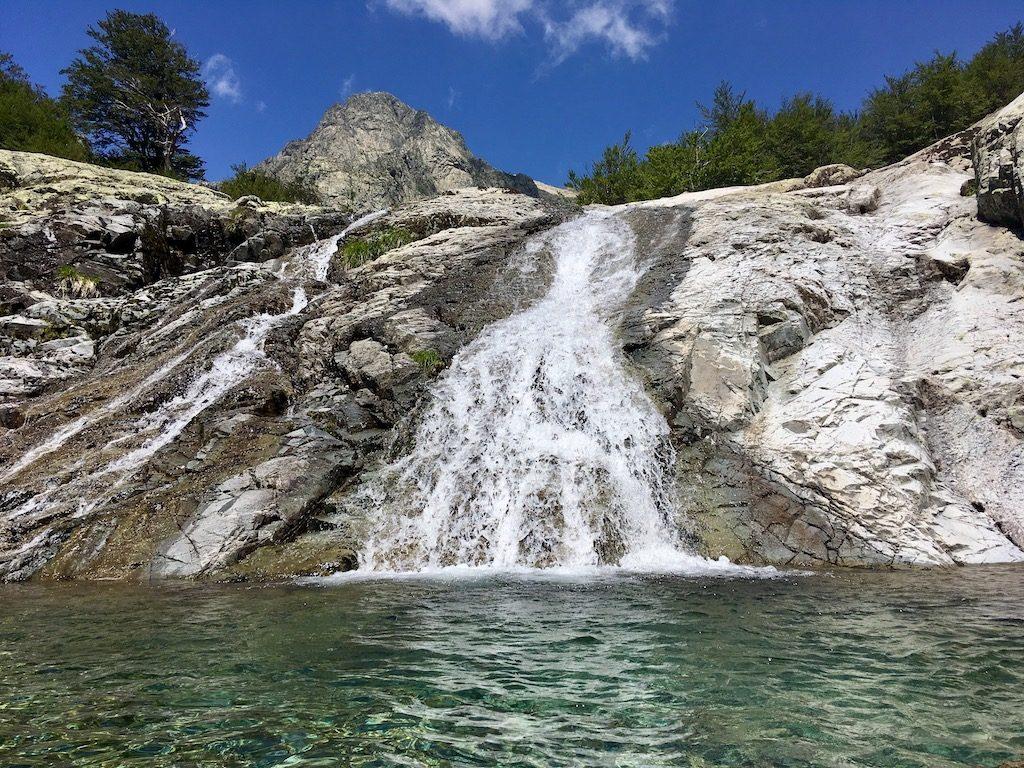 Gumpe zum Baden am GR20 auf Korsika