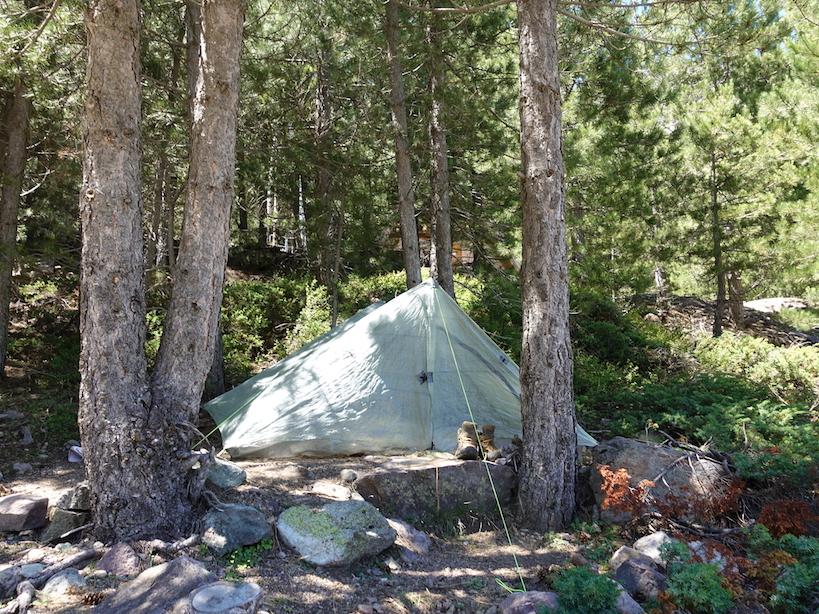 GR20: Mein Zelt, mein Zuhause