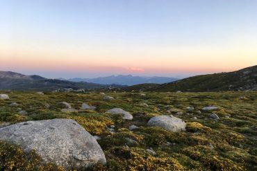GR20: Sonnenaufgang