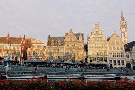 Graslei & Korenlei in Gent