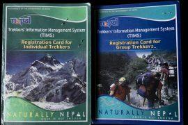 Die grünne und blaue TIMS Card