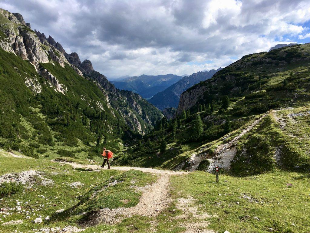 Hochpustertaler Höhenweg: Am Weg ins Helltal