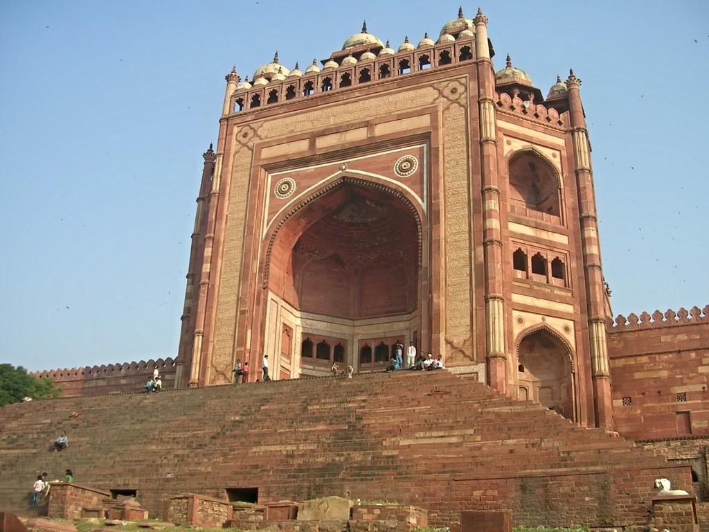 Eingang zur Jama Masjid Moschee in Fatehpur Sikri