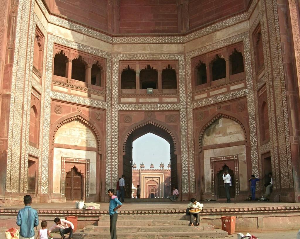 Jama Masjid Moschee in Fatehpur Sikri
