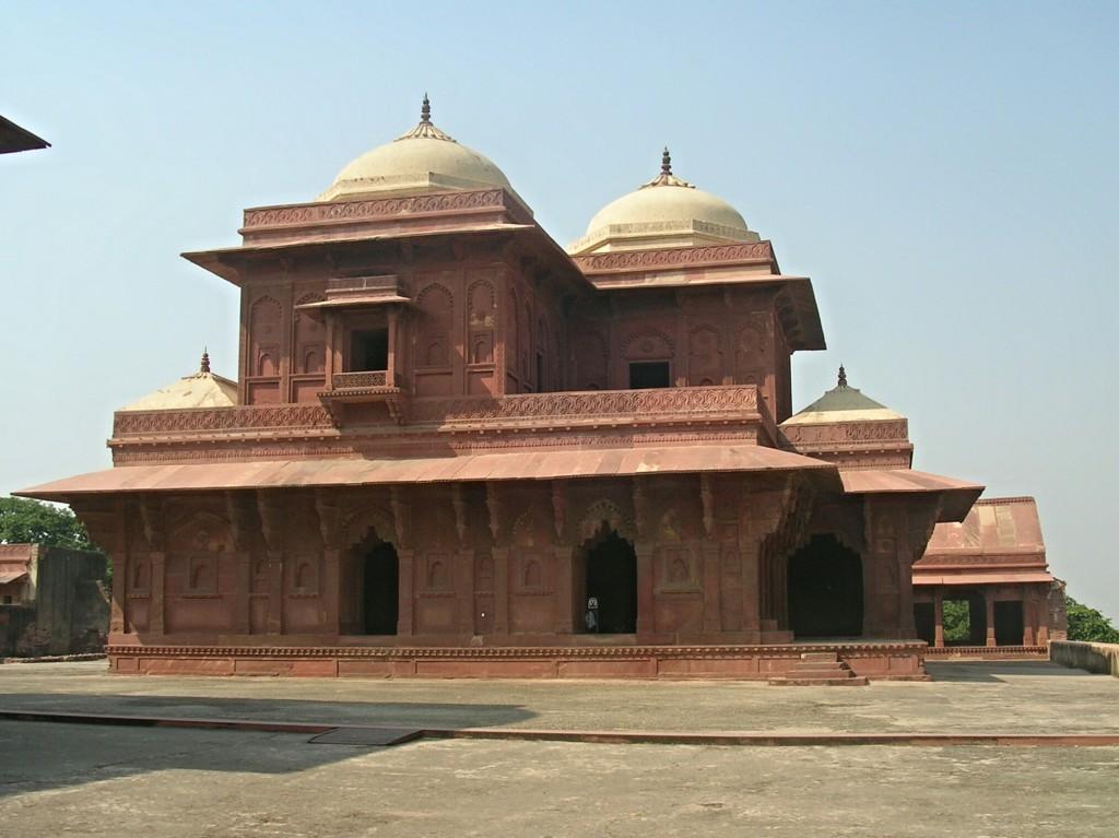 In der Jama Masjid Moschee in Fatehpur Sikri