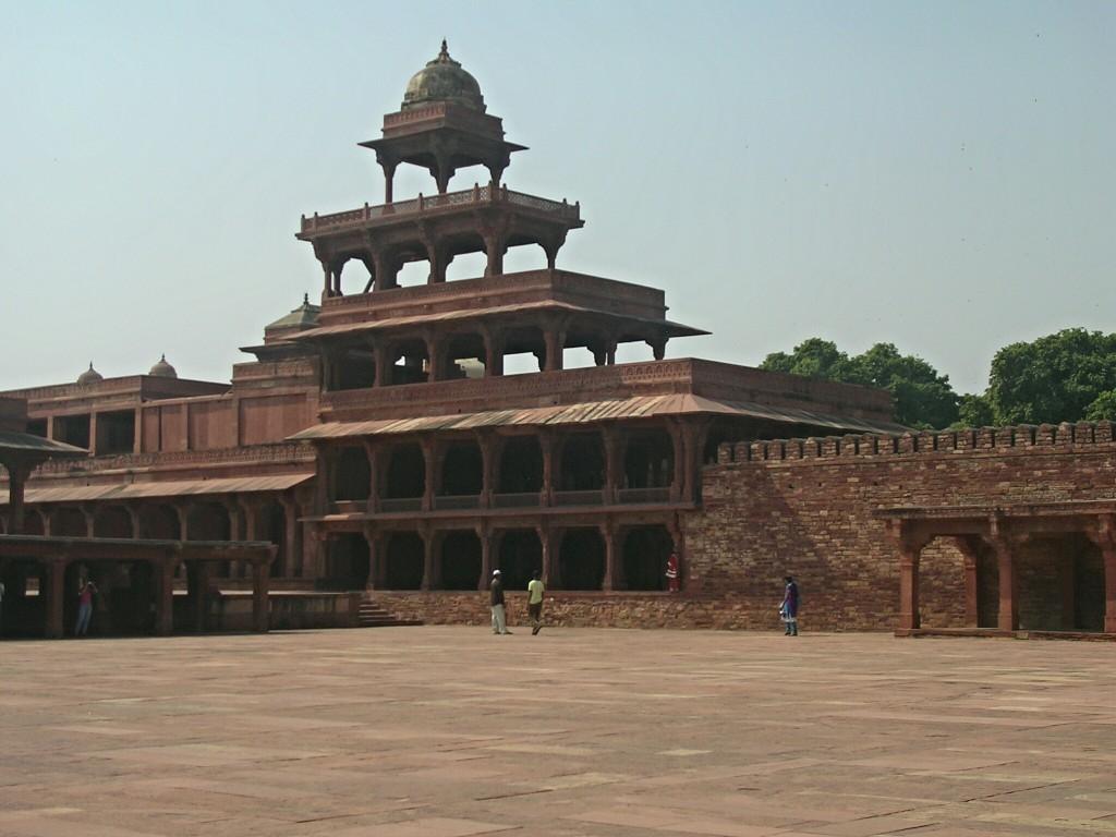 Hofanlage der Jama Masjid Moschee in Fatehpur Sikri