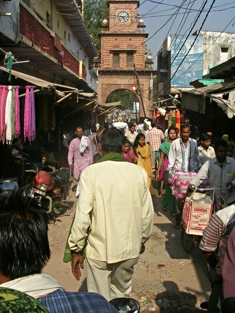 Markt in Fatehpur Sikri