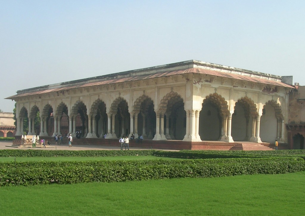 Im Roten Fort in Agra