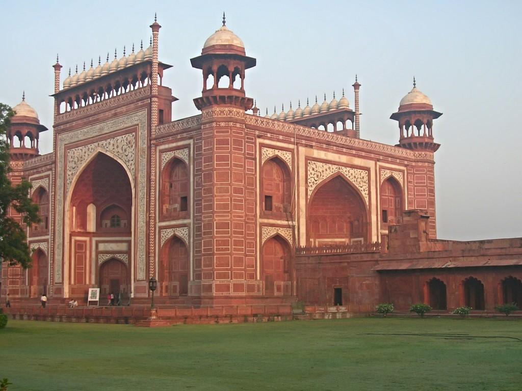 Nebengebäude vom Taj Mahal in Agra