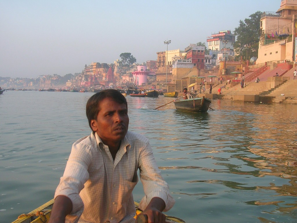 Bootstour am Ganges in Varanasi