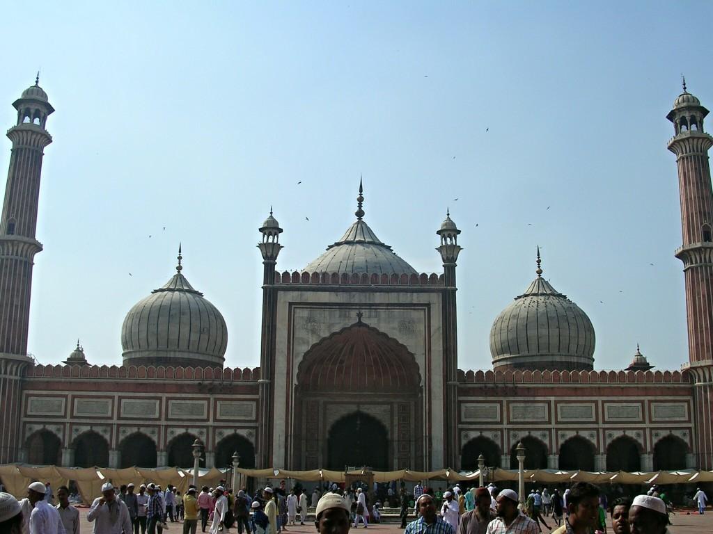 Jama Masjid (Freitagsmoschee) in Delhi