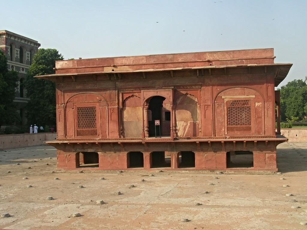 Im Roten Fort (Lal Qila) in Delhi