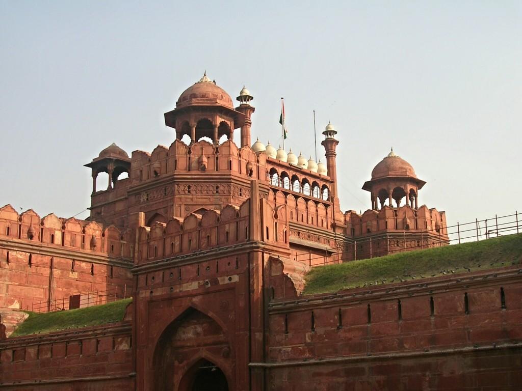Rotes Fort (Lal Qila) in Delhi