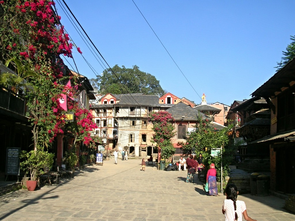 Hauptplatz in Bandipur