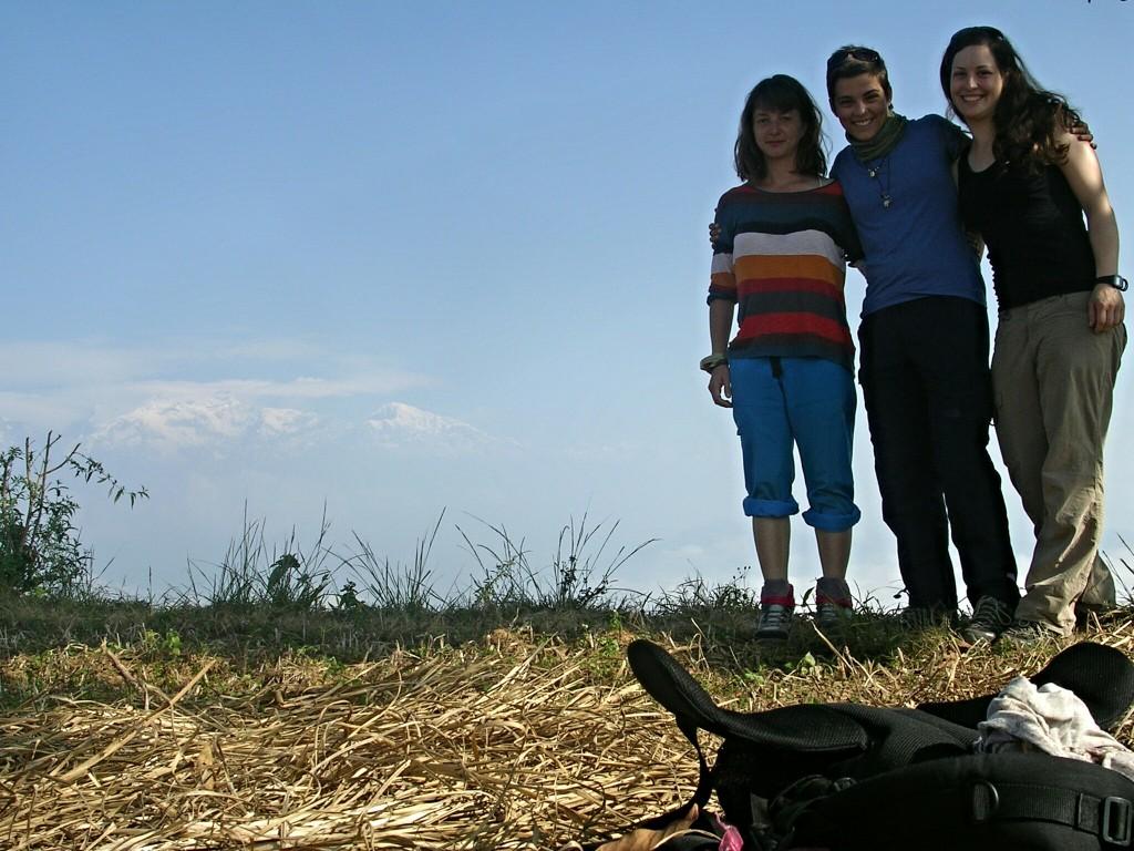 Gruppenfoto in Bandipur