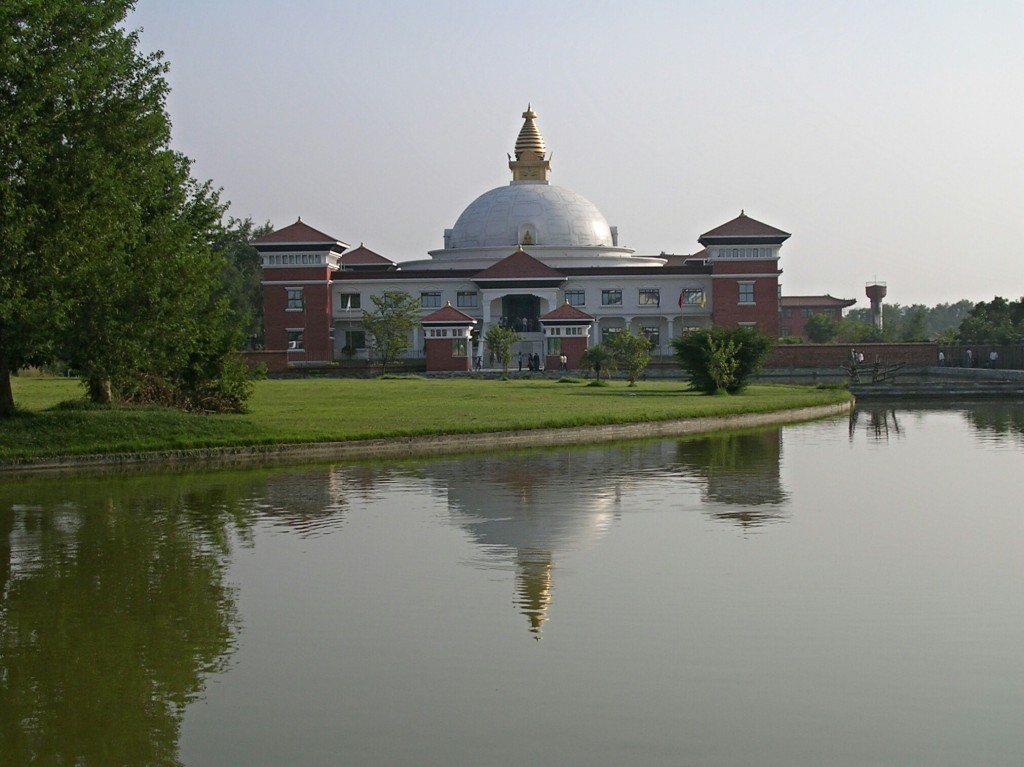 Nepalesischer Tempel in Lumbini