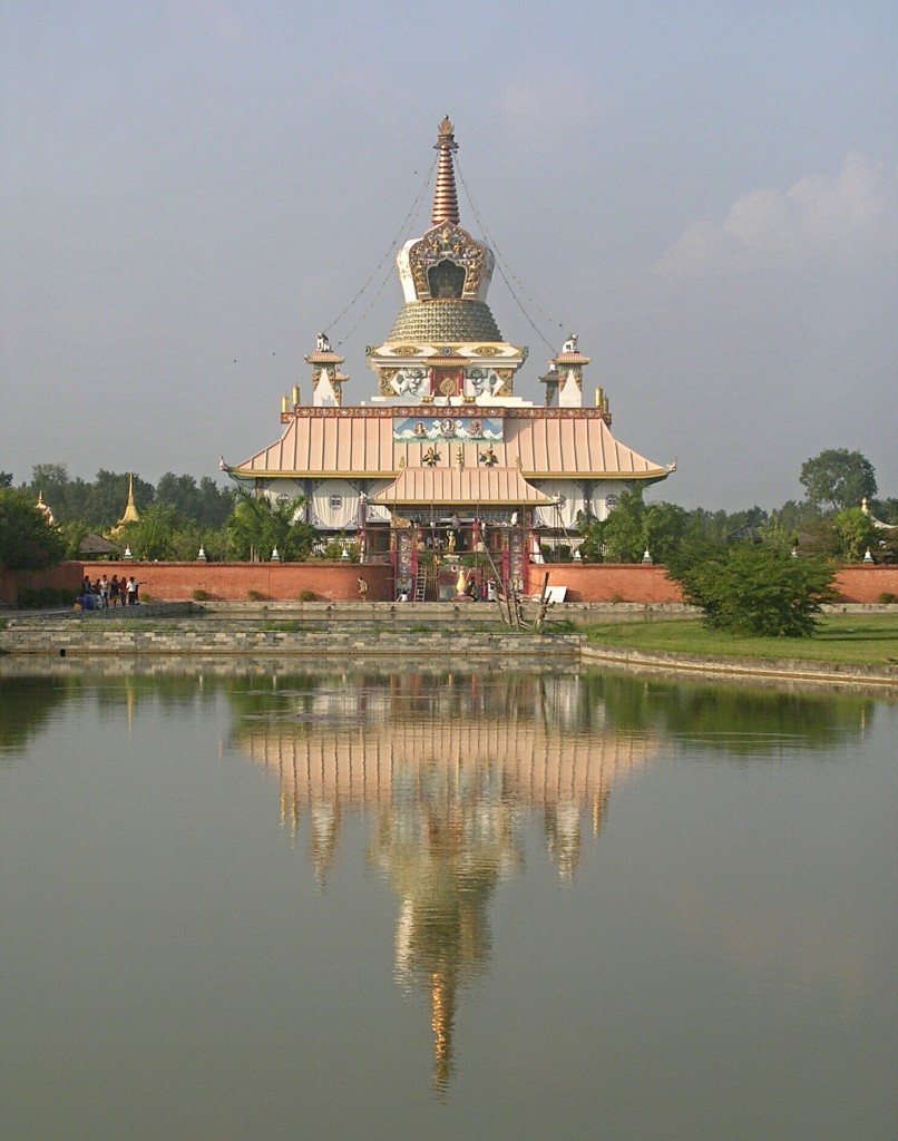 Deutscher Tempel in Lumbini