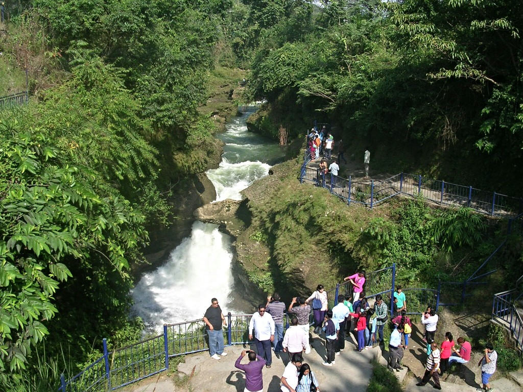 Devi´s Wasserfall in Pokhara