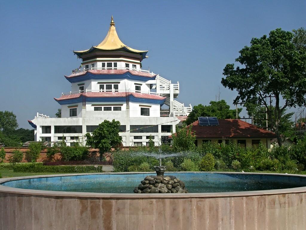 Sigapur Tempel in Lumbini