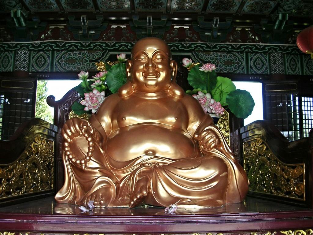 Buddha Statue in Lumbini