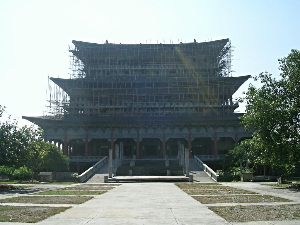 Buddhistischer Tempel von Korea in Lumbini