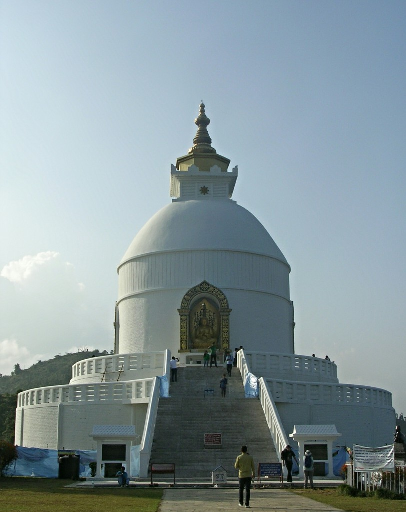 World Peace Pagode in Pokhara
