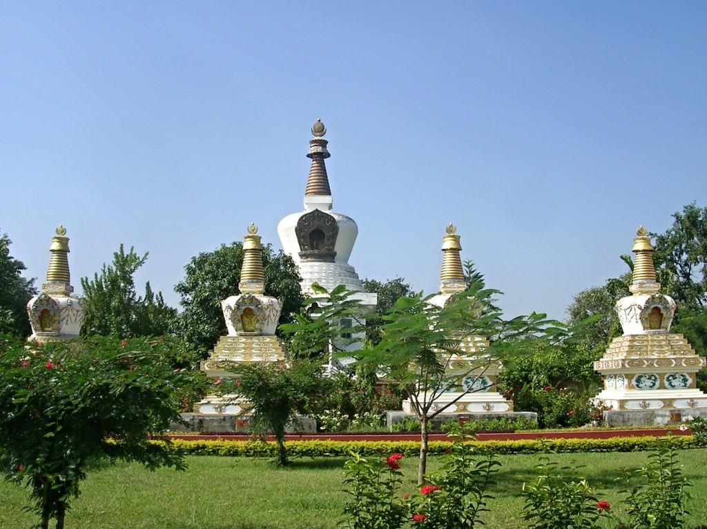 Manang Samaj Stupa in Lumbini