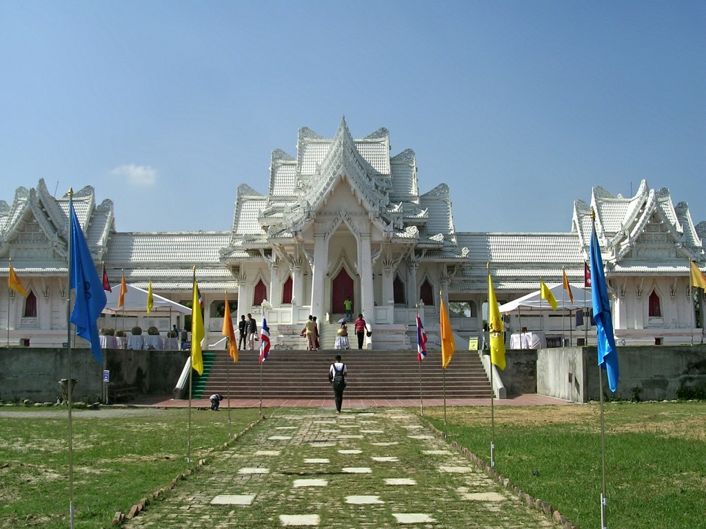 Thai Tempel in Lumbini