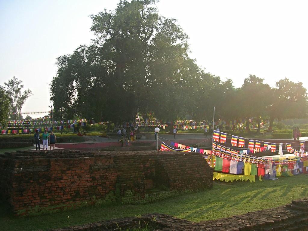 Heiliger Garten in Lumbini