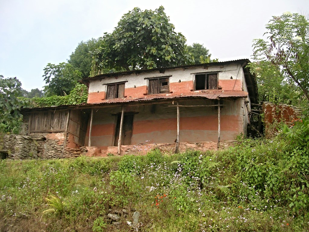 Haus zwischen Sarangkot & Nagdada