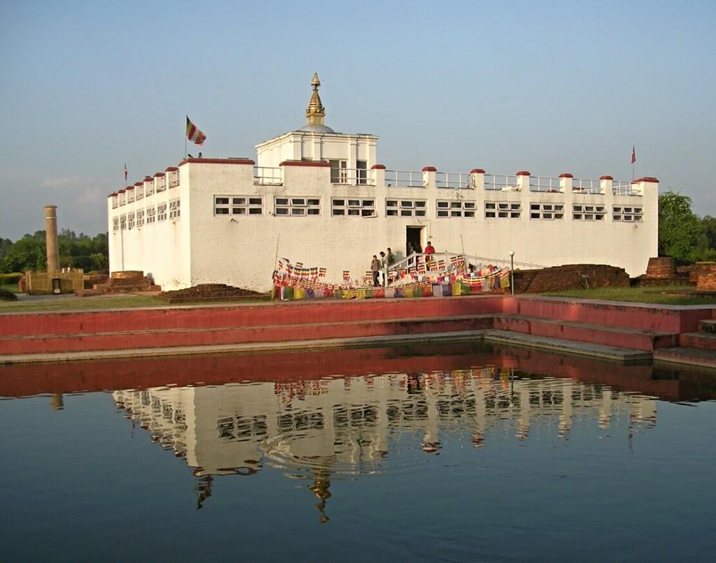 Maya Devi Temple mit Buddhas Geburtsort in Lumbini
