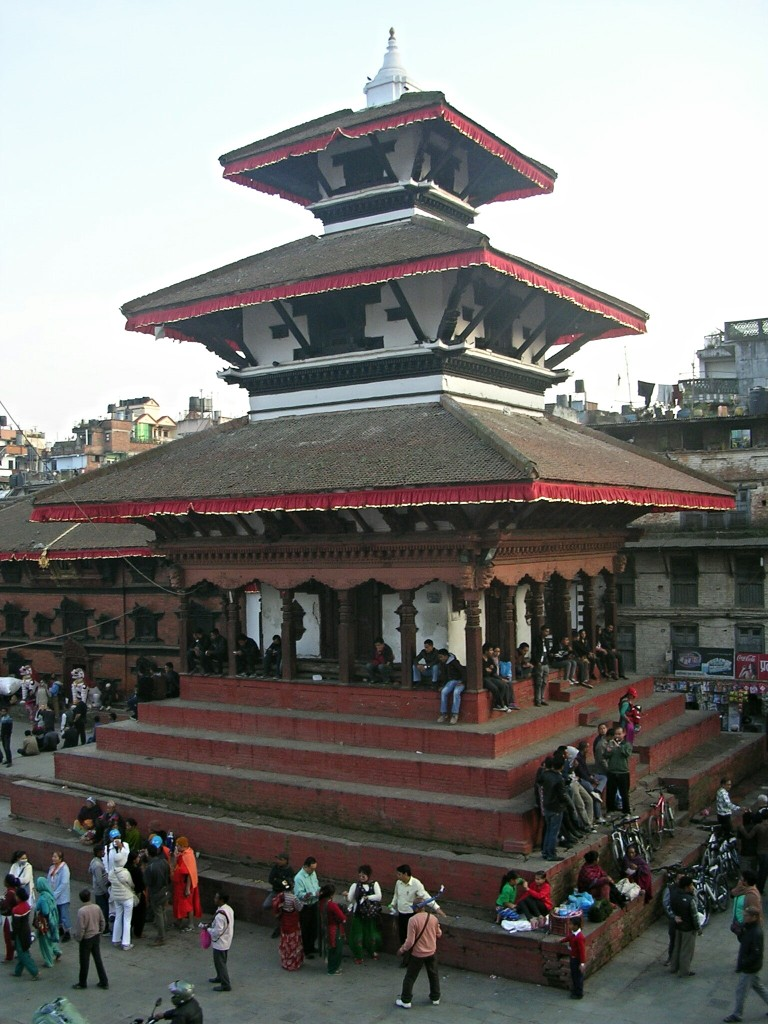 Durbar Square in Kathmandu (vor Erdbeben)
