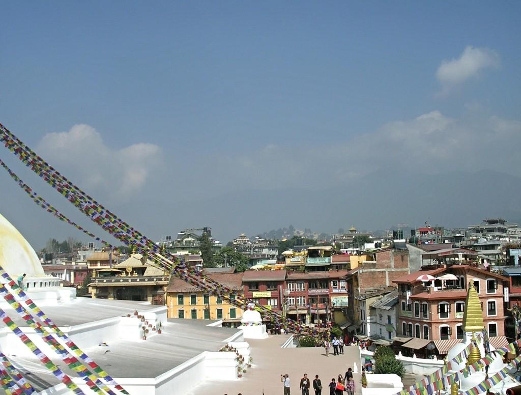Stupa von Bodnath (Boudhanath) in Kathmandu