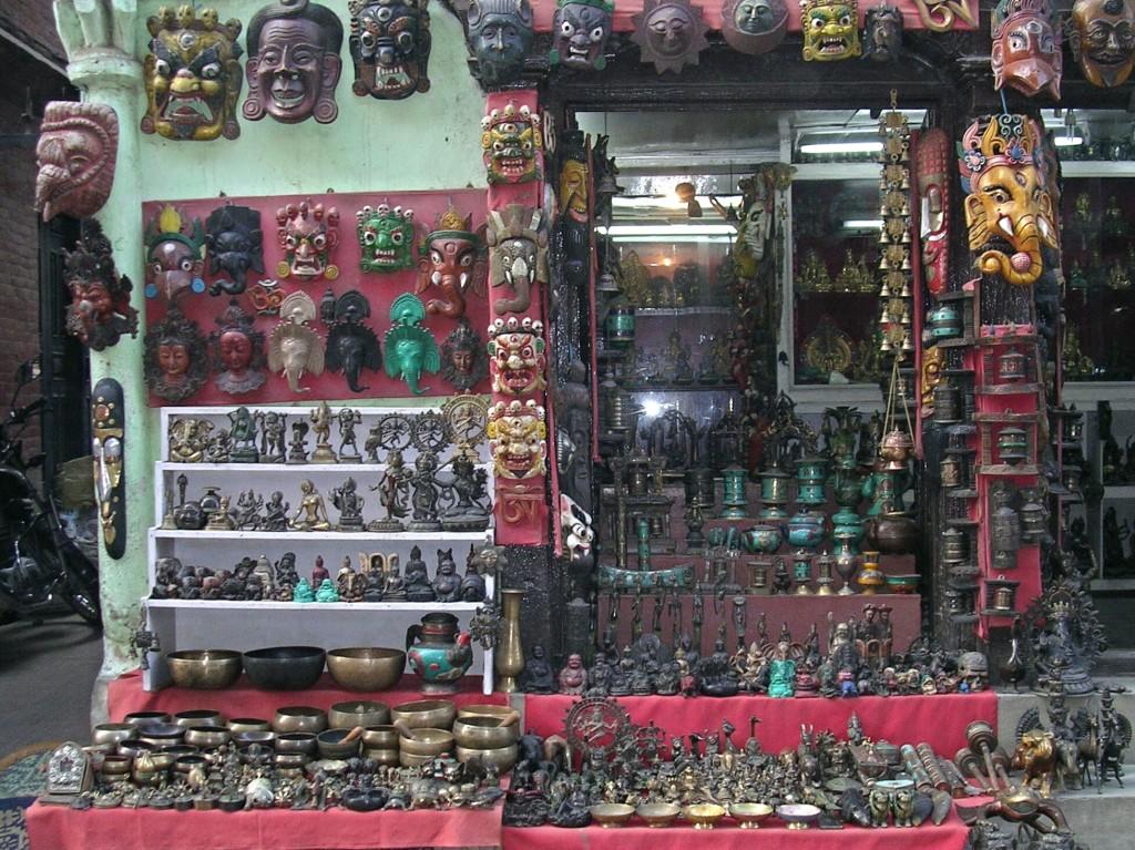 Masken in Kathmandu