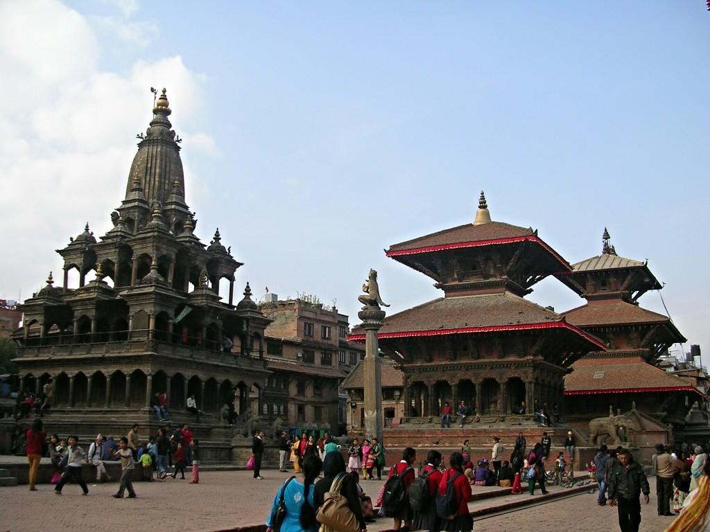 Durbar Square in Patan (Kathmandu)