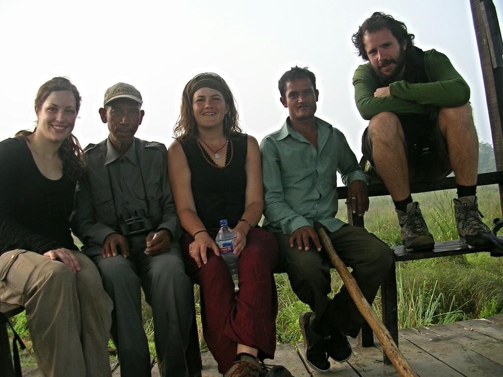 Gruppenfoto vom Dschungel Trekking
