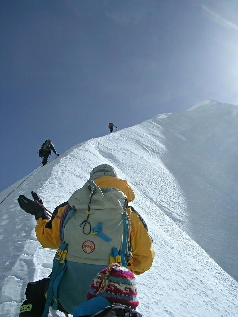 Berggrat Tarpu Chuli in Nepal