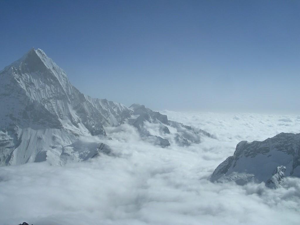 Ausblick vom Tarpu Chuli (Tent Peak)