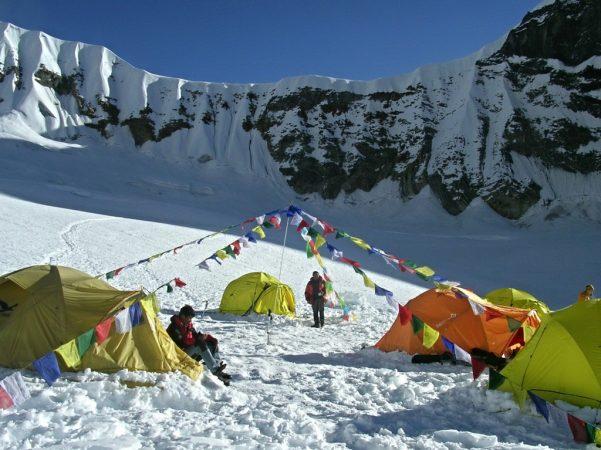 High Camp am Weg zum Tarpu Chuli
