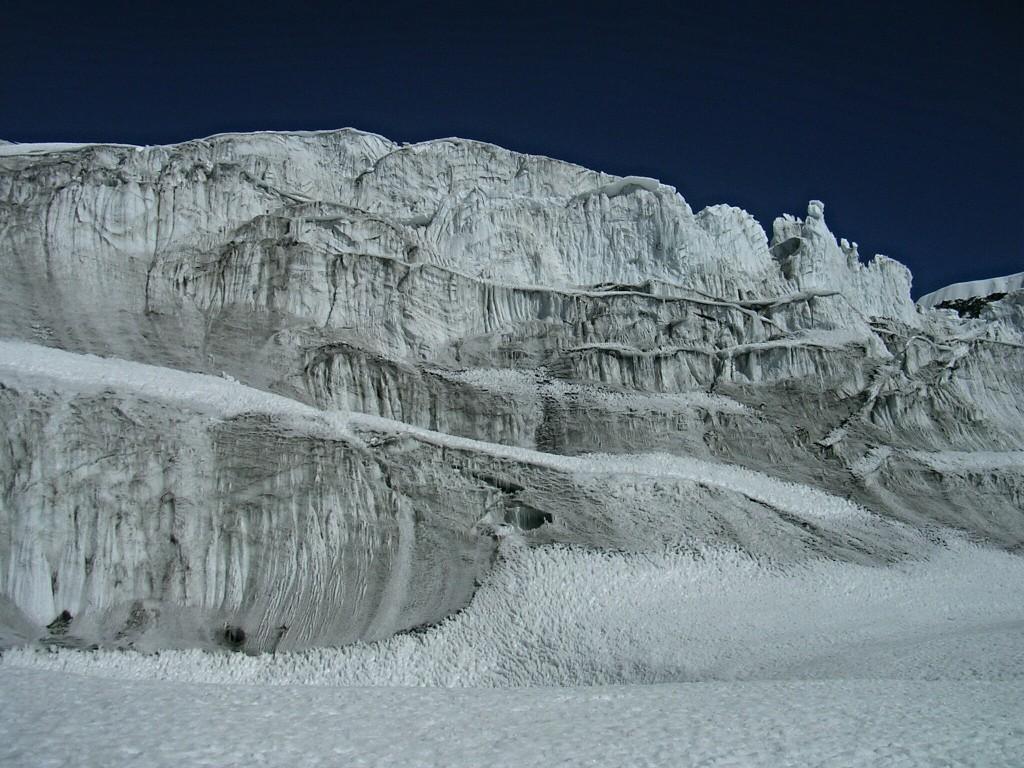 Gletscher beim Tarpu Chuli
